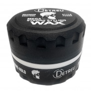 Detreu Mega Strong Gel Wax Iron Hold Black 140 ml