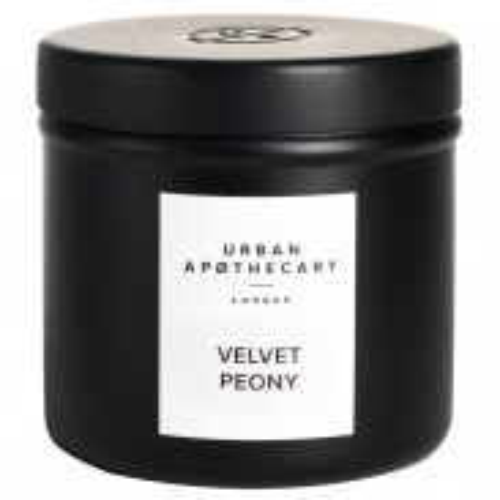 Urban Apothecary Luxury Iron Travel Candle - Velvet Peony 175 g