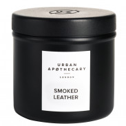 Urban Apothecary Luxury Iron Travel Candle - Smoked Leather 175 g