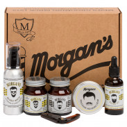Morgan's Moustache & Beard Grooming Gift Set