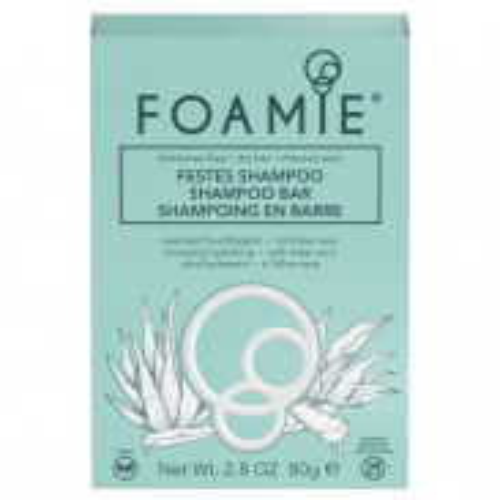 FOAMIE Festes Shampoo - Aloe You Vera Much 80 g