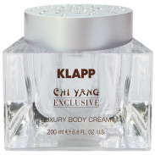 Klapp Cosmetics Chi Yang Exclusive Luxury Body Cream 200 ml