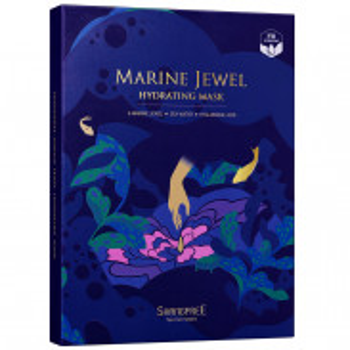 SHANGPREE Marine Jewel Hydrating Mask 5 St.