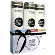 I WANT YOU NAKED Aromabad-Set 3 x 90 g