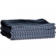 1o1BARBERS Barber Towel Black/White 20x40cm
