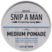 Snip A Man Medium Pomade 100 g