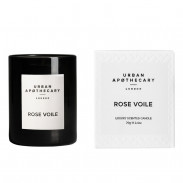 Urban Apothecary  Luxury Boxed Glass Candle - Rose Voile 70 g