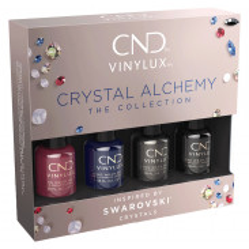 CND Vinylux Crystal Alchemy Pinkies 4 x 3,7 ml