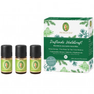 PRIMAVERA Set Duftende Waldkraft 3x 5 ml