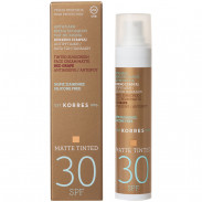 Korres Red Grape SPF30 Anti-Ageing/ Anti-Spot getönte Sonnencreme Matt 50 ml