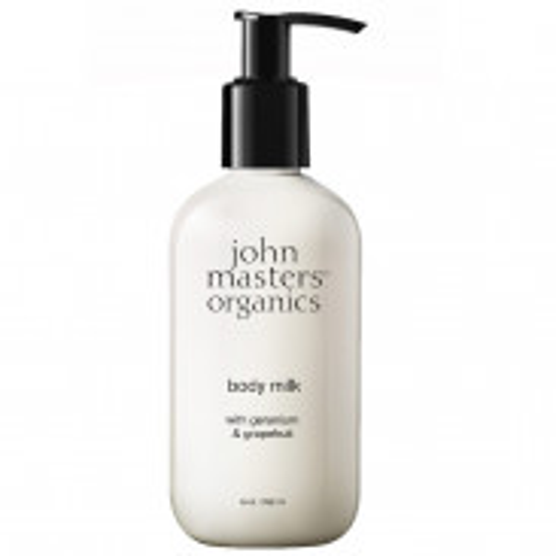 john masters organics Geranium & Grapefruit Body Milk 236 ml