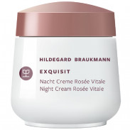 Hildegard Braukmann exquisit Créme rosèe vitale Nacht 50 ml