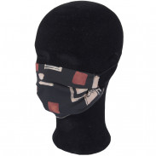 Solida Mund- und Nasenmaske 100% Polyester mit Ohrgummi, Dessin 16