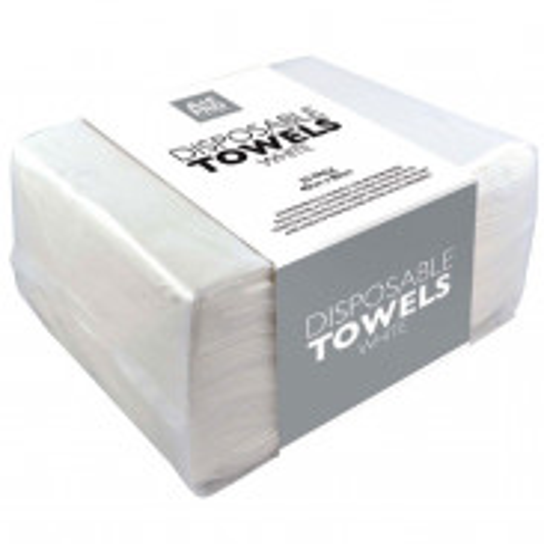 Goldwell Easy Dry Handtücher Weiß 50 Stück