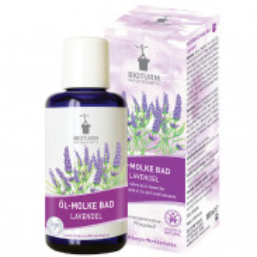 BIOTURM Öl-Molke Bad Lavendel 100 ml
