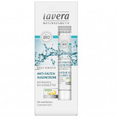 Lavera Basis Sensitiv Anti-Falten Augencreme 15 ml