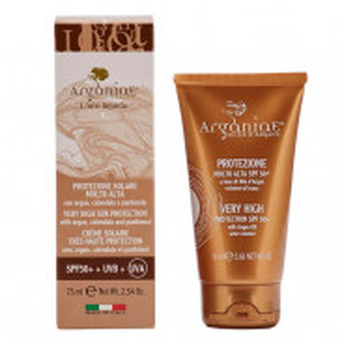 Arganiae Sonnencreme mit sehr hohem Schutz LSF 50+ auf Basis von Arganöl 75 ml