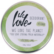 We Love The Planet  Natürliche Deodorant Creme Luscious Lime 48 g