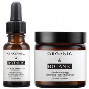 Organic&Botanic Mandarin Orange Eye Serum + Night Moisturiser