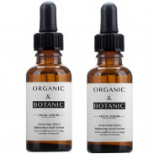Organic&Botanic Amazonian Berry Balancing Facial Serum 2x30 ml