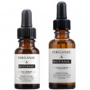 Organic&Botanic Mandarin Orange Restorative Eye Serum + Correcting Facial Serum