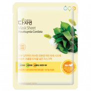 allNATURAL Mask Sheet Houttuynia Cordata 25 ml