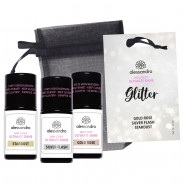 alessandro International Ultimate Shine Non Sticky Ultimate Shine mit Glitter Set