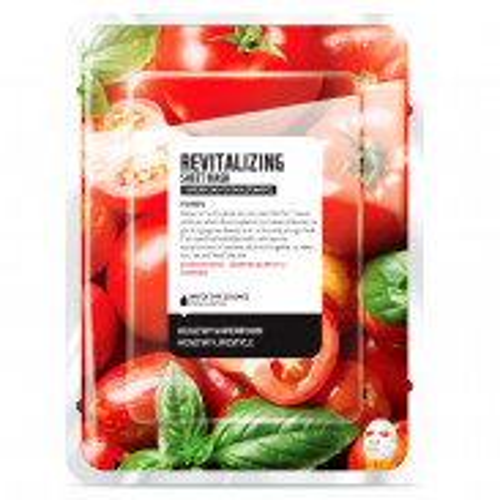Farmskin Superfood Salad Facial Tomato Revitalizing Sheet Mask 15 ml
