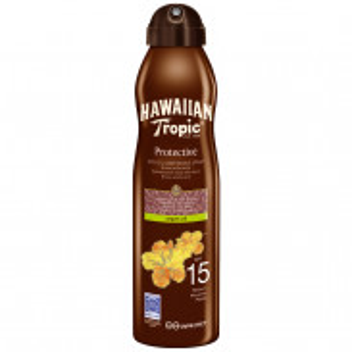 Hawaiian Tropic Protective Argan Oil C-Spray (SPF 15) 177 ml