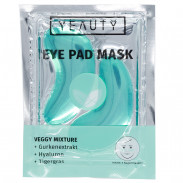 YEAUTY Veggy Mixture Eye Pad Mask 2er