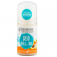 Benecos Natural Deo-Roll-On Aprikose & Holunderblüte 50 ml
