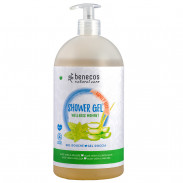 Benecos Natural Showergel Family Aloe Vera & Melisse 950 ml