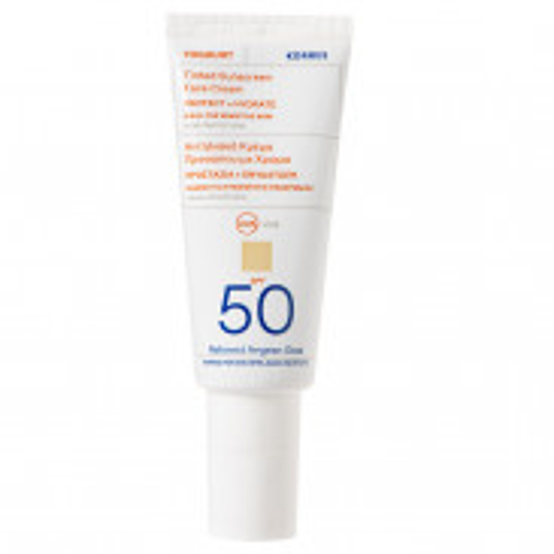 Korres Yoghurt Getöntes Sonnencreme-Gel für das Gesicht SPF50 40 ml