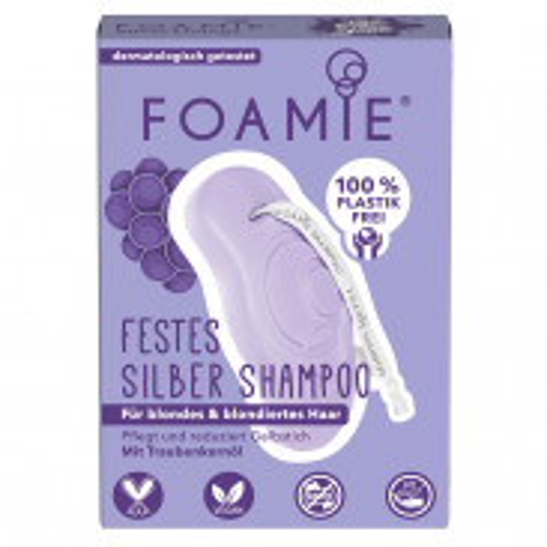 FOAMIE Festes Shampoo - Silver Linings