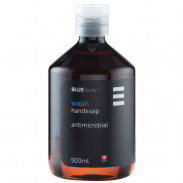 Blue body wash handsoap antimicrobial 500 ml
