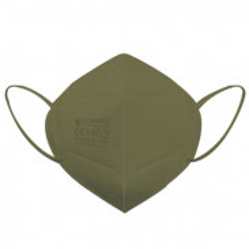 Eliware FFP2 Einweg Atemschutzmaske - grün