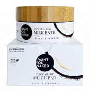 I WANT YOU NAKED Coco Glow Milchbad 160 g