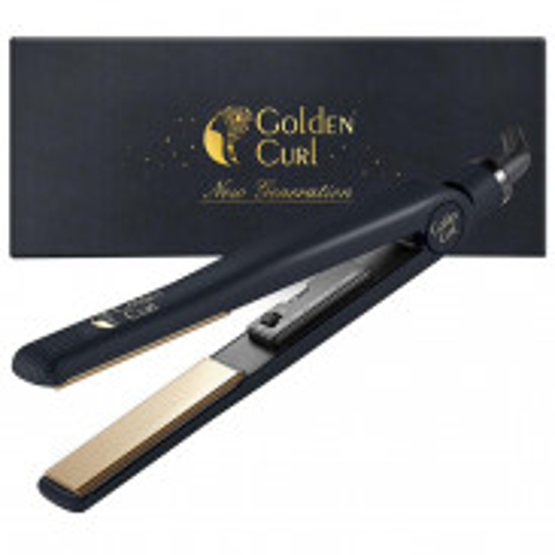 Golden Curl Tourmaline/Titanium Glätteisen (Gold)