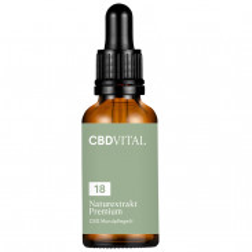 CBD VITAL 18% CBD Mundpflegeöl 30 ml