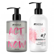 Indola ACT NOW! Colorblaster Pflegeduo Willow Pink
