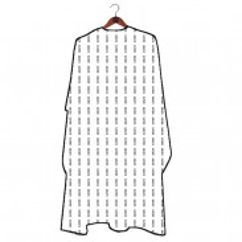GØLD´s Barber Umhang - White Pattern