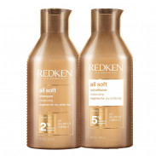 Redken All Soft Bundle Shampoo & Conditioner 2x 500 ml