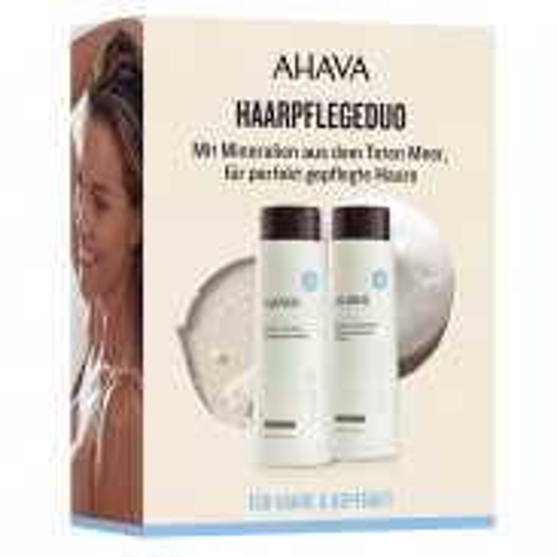 AHAVA Mineral Shampoo & Conditioner Kit 2 x 400 ml