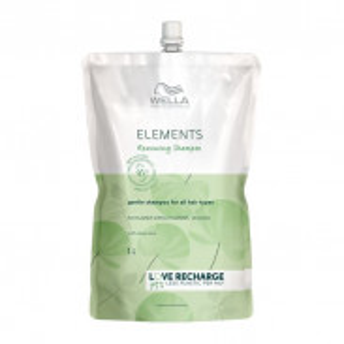 Wella Care³ Elements Renewing Shampoo 1000 ml -Refill
