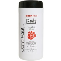 John Paul Pet Ear & Eye Wipes