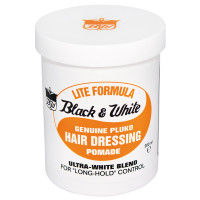 Black & White Lite Formula Hair Dressing Pomade 200 ml