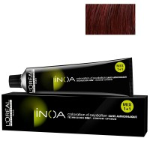 L'Oréal Professionnel INOA 5,56 hellbraun mahagoni rot 60 ml