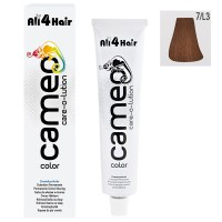 LOVE FOR HAIR Professional cameo color care-o-lution 7/L3 mittelblond leicht-gold 60 ml