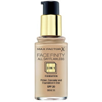 Max Factor Face Finity 3-In-1 Foundation 55 Beige 30 ml