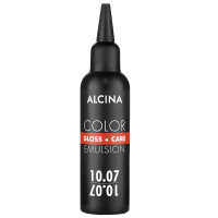 Alcina Color Gloss + Care Emulsion 10.07 hell-lichtblond-pastell-braun 100 ml